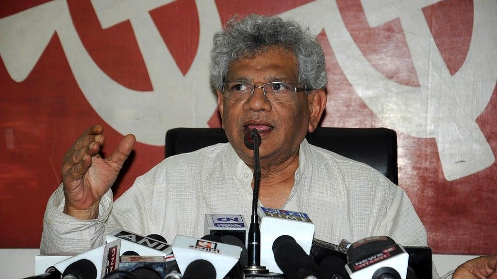 Scrap Central Vista Plan in View of COVID-19, Says Sitaram Yechury