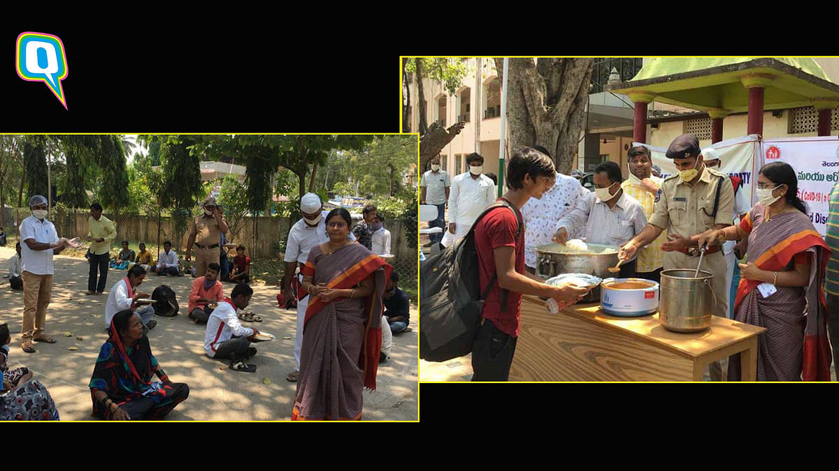 Amid Lockdown, Telangana Judge Feeds the Underprivileged in Court