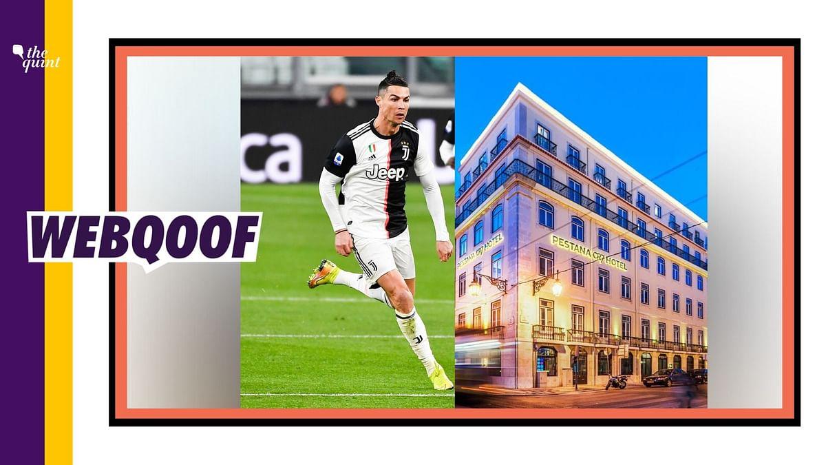Ronaldo Isn't Turning Hotels to Hospitals for Coronavirus Patients
