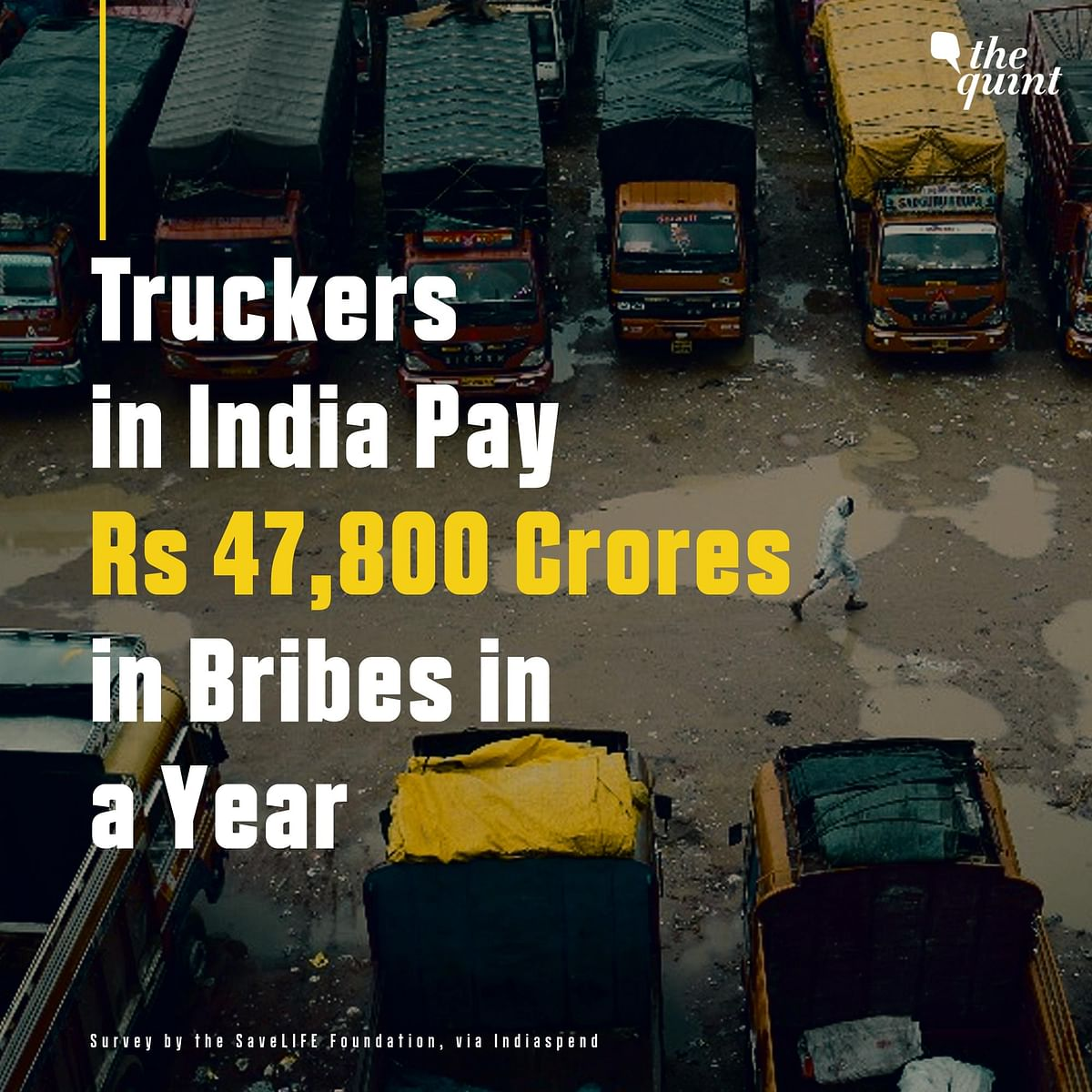 The annual bribe amount is nearly equal to the government's expenditure on infrastructure in Arunachal Pradesh over the last five years.