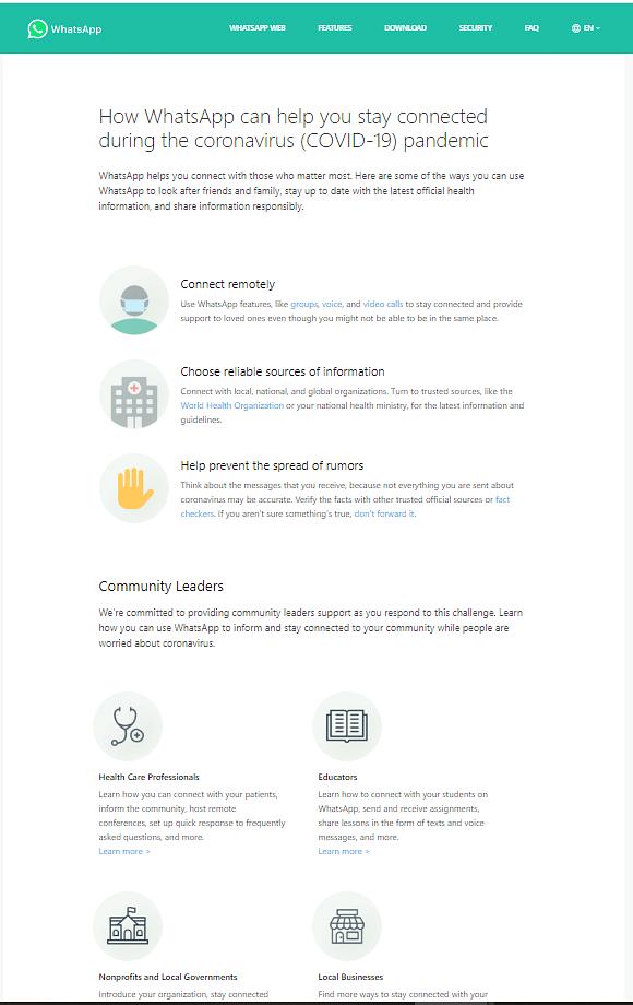 "Click <a href=""https://api.whatsapp.com/send?phone=41798931892&amp;text=hi&amp;source=&amp;data="">here</a> to access the WHO WhatsApp group."