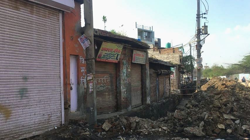 Many Muslim shop owners fled the area after their shops were burnt and are yet to return.