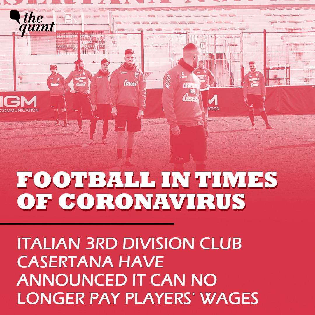 Due to COVID-19, Financial Crisis Looms Large Over Football Clubs