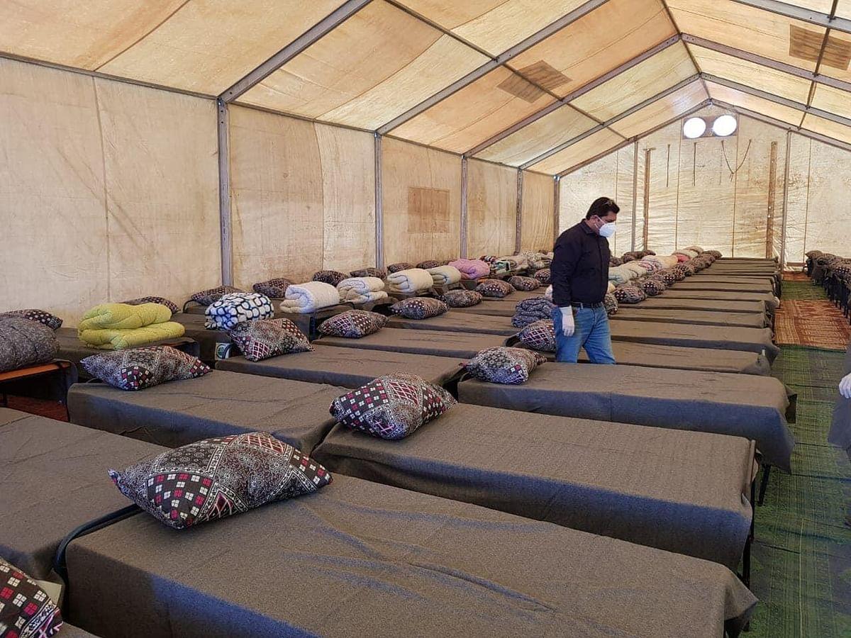 Inside the Taftan 'quarantine' camps set up by Pakistan Army.