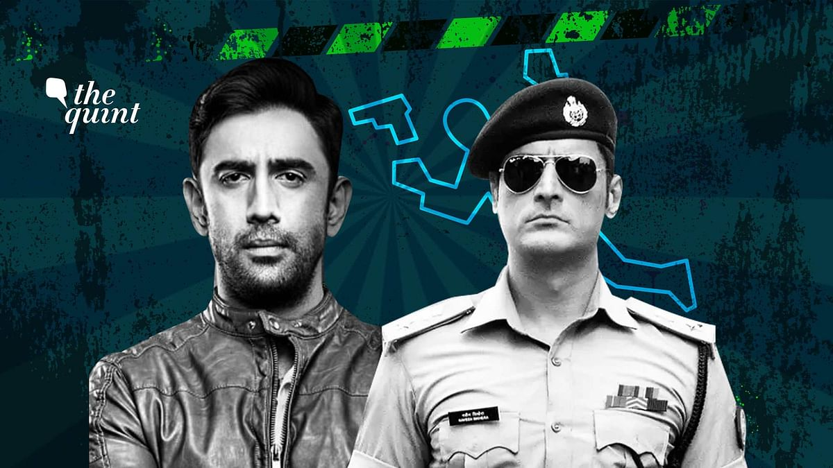 Amit Sadh and Mohit Raina play the stereotypical heroic cops.