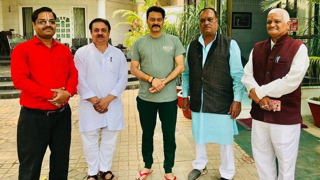 BJP MLA Sanjay Pathak
