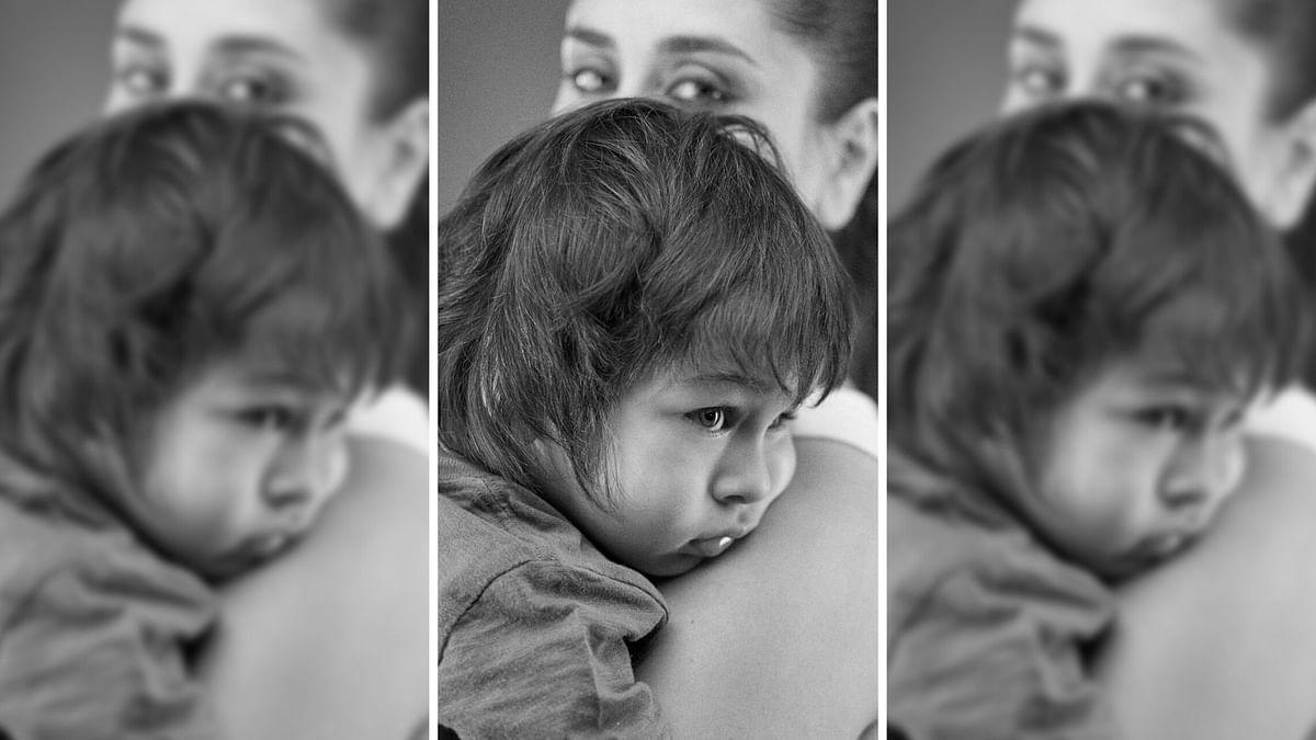Taimur Debuts on Kareena's Instagram, 'Steals' Her Frame