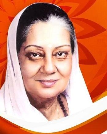 Rajmata Vijaya Raje Scindia, the first member of the royal family to step into politics.