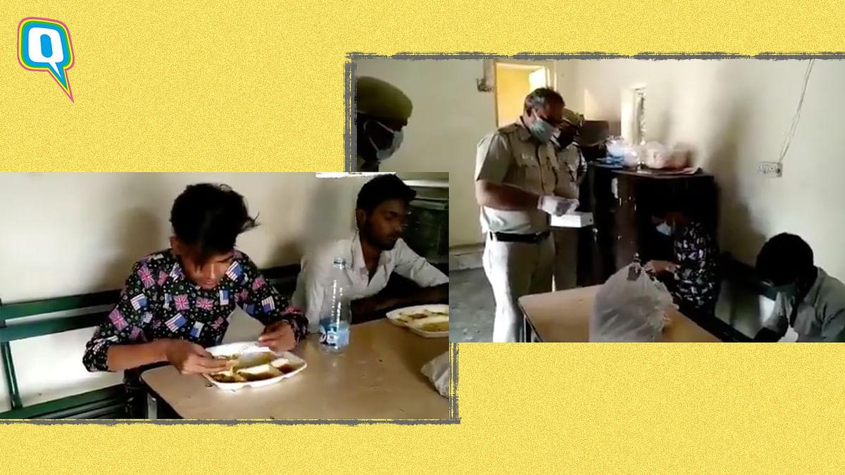Delhi Police provides food to daily wage labourers