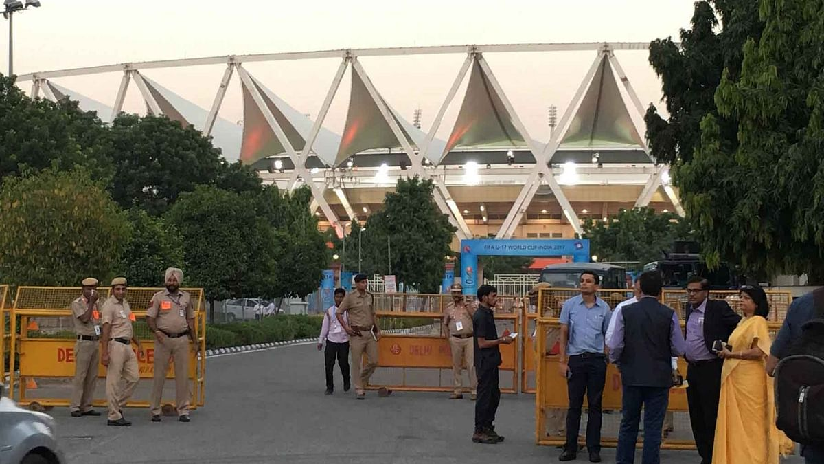 New Delhi's Jawaharlal Nehru Stadium will be used as a quarantine facility to house patients infected by coronavirus.