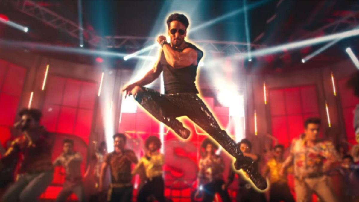 Tiger Shroff in a still from 'Disco Dancer 2.0'.