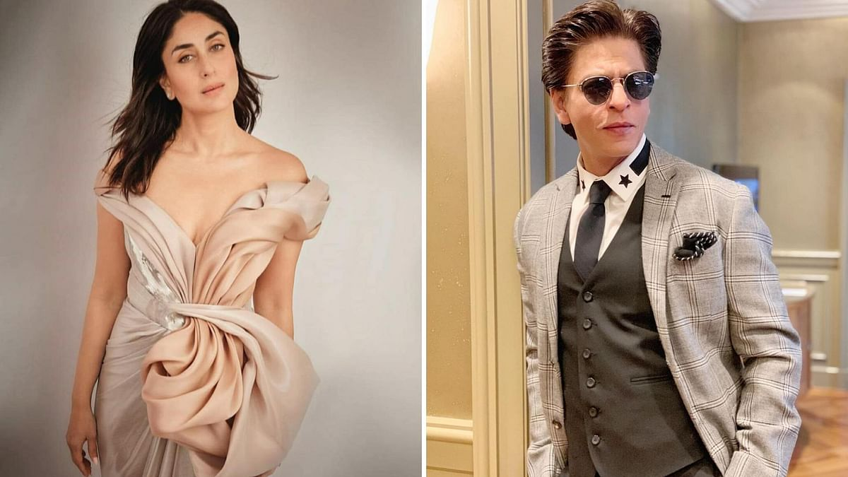 There were rumours about Kareena Kapoor collaborating with Shah Rukh Khan.