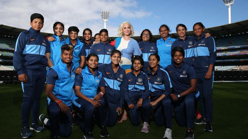 Women's T20 WC: Ahead of Final, India Catch Up With Katy Perry