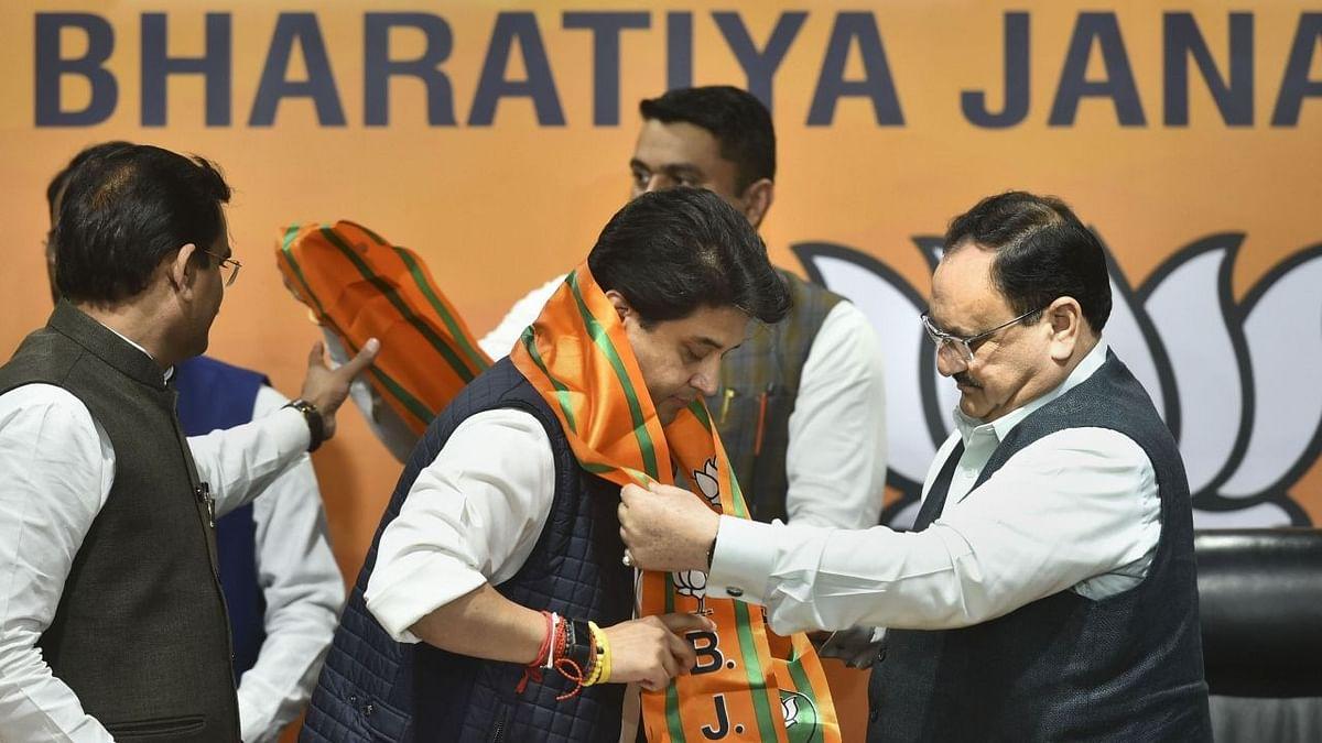 Shivraj, Maharaj Together in BJP: Ex-MP CM on Scindia Joining BJP