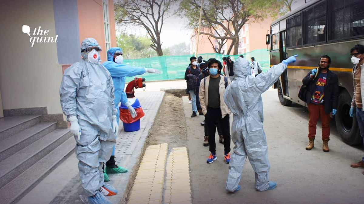 Between 1 February to 14 March, 518 people were kept in different batches in the Chhawla quarantine facility and were released after being tested negative.