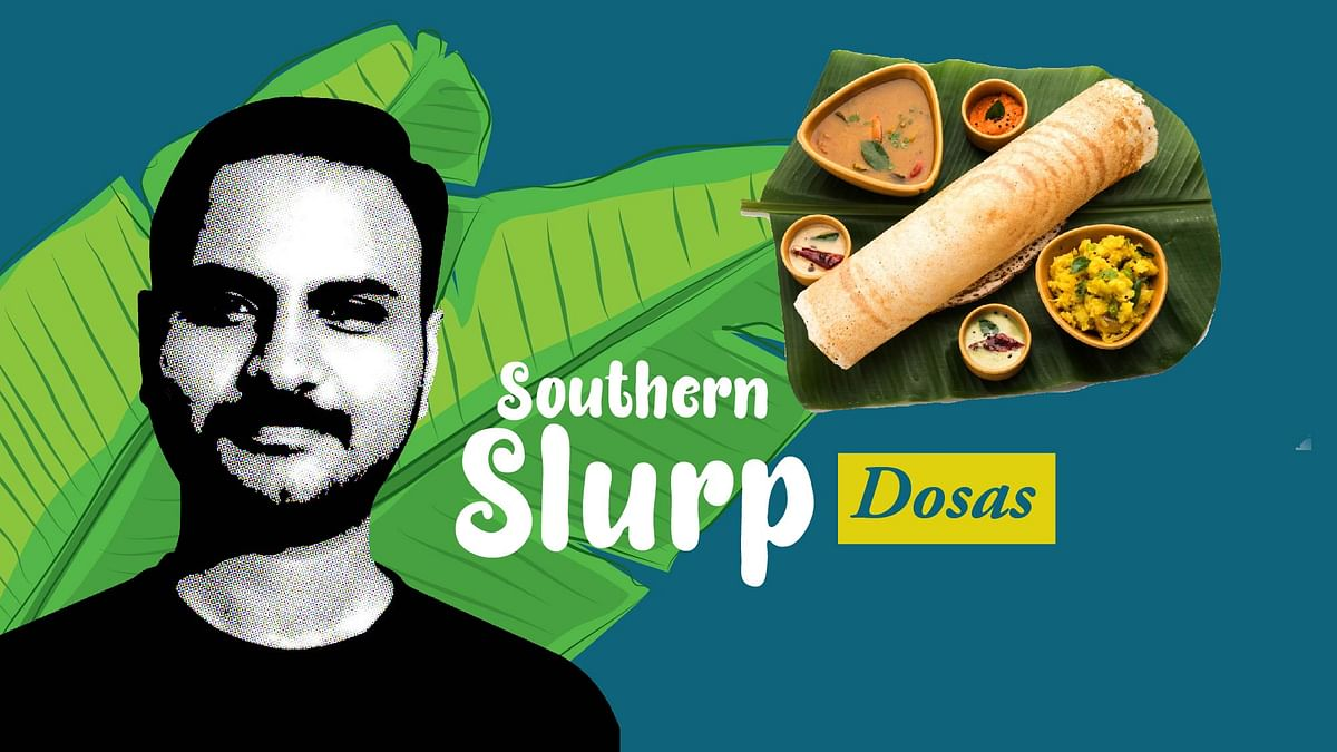 The dosa is tradition and modernism rolled in one.