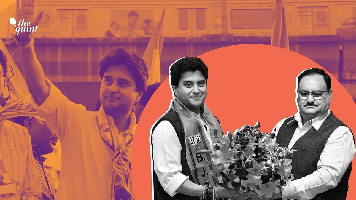 Jyotiraditya Scindia once used to launch scathing attacks on BJP.