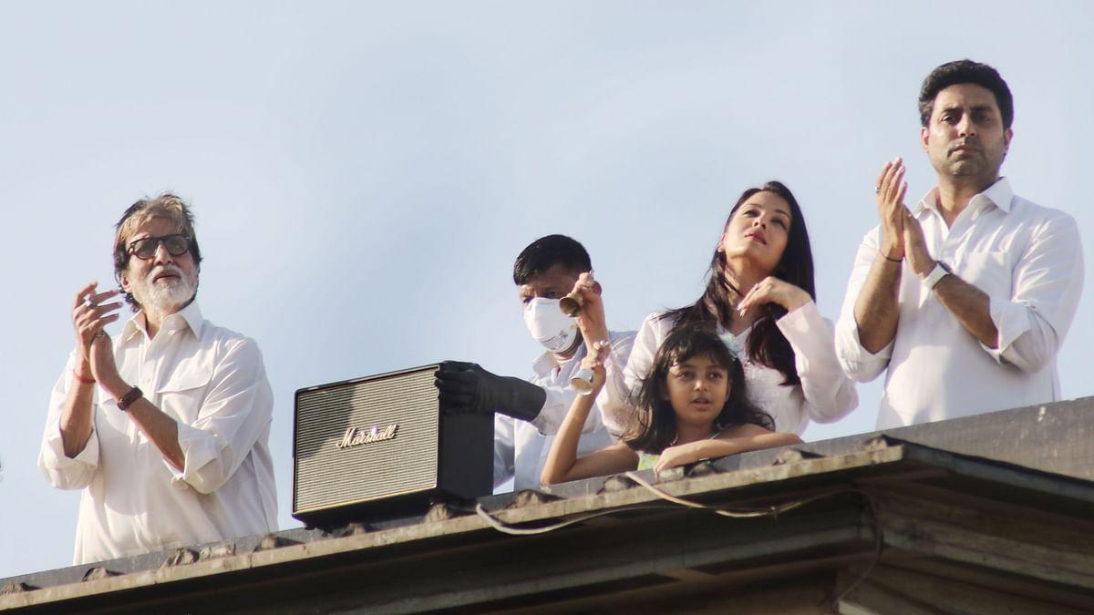 COVID-19: Amitabh Bachchan, Aishwarya, Abhishek Clap, Ring Bells