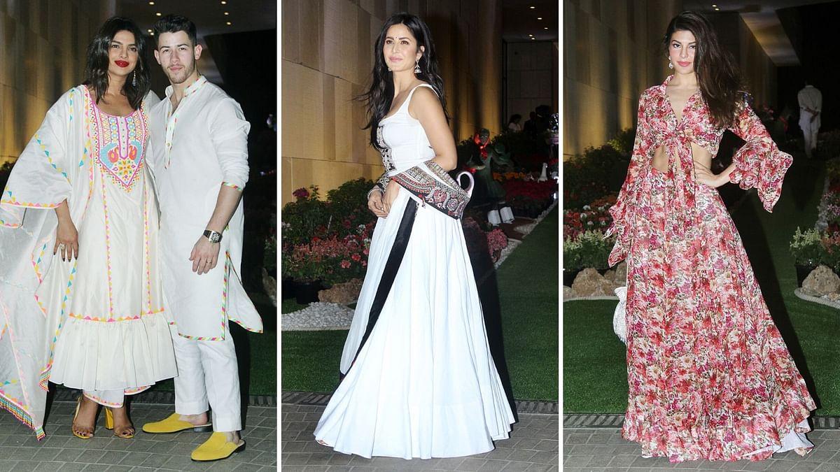 Pics: Priyanka, Nick, Katrina Attend Isha Ambani's Holi Bash