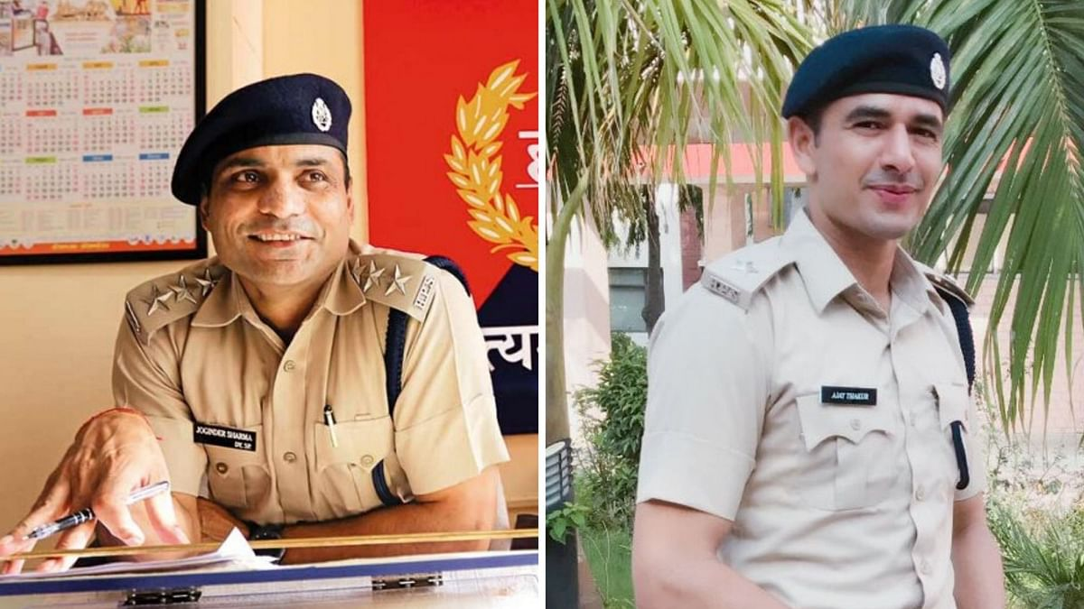 T20 World Cup-winning cricketer Joginder Sharma and Asian Games champion kabaddi player Ajay Thakur are now full-time police officers.