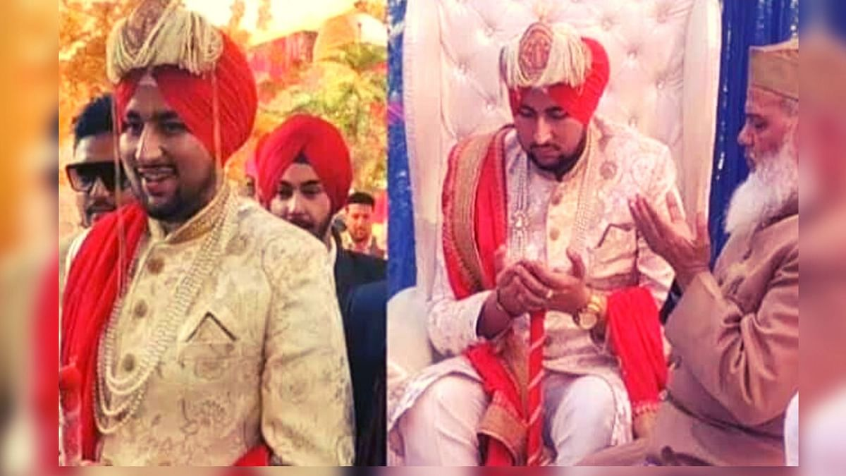 Muslim Groom Dons a Turban to Honour Sikhs on His Wedding Day