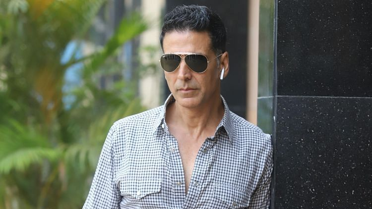 Akshay Kumar has stepped out to shoot almost after two months.