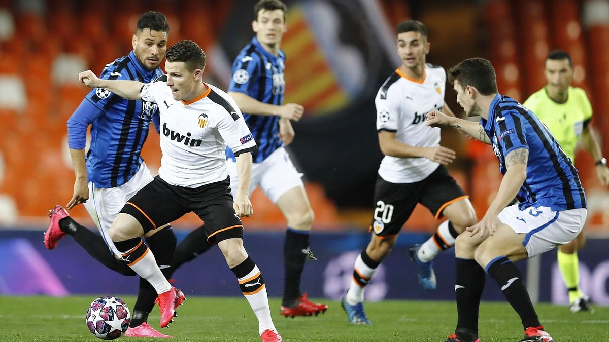 Valencia Confirm Five Positive Tests for COVID-19, Including Garay