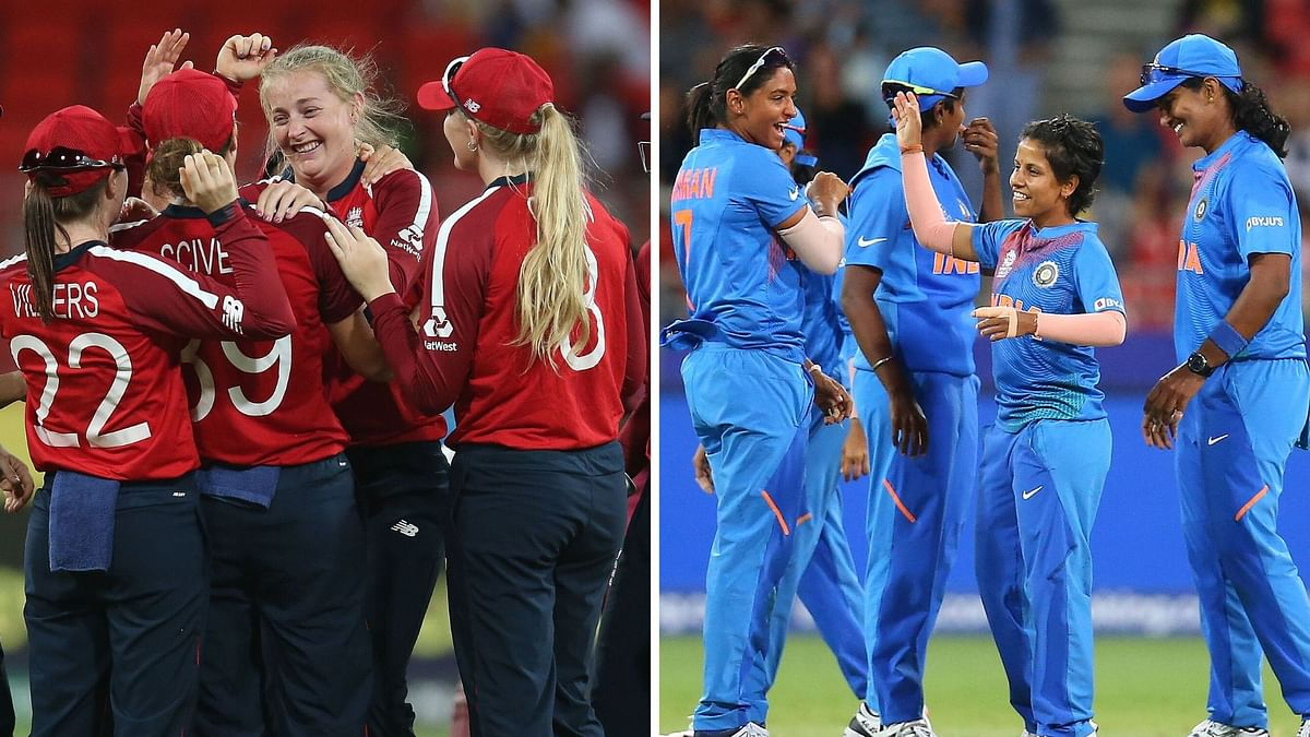 In their last meeting in the Women's T20 World Cup, England defeated India by 8 wickets in the semi-finals.