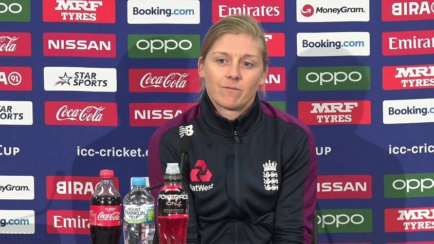 Hope There is a Rule Change: English Captain Heather Knight