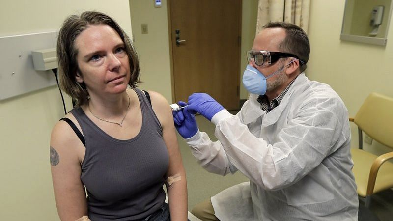 Experimental Coronavirus Vaccine's First Test Shot Given In US