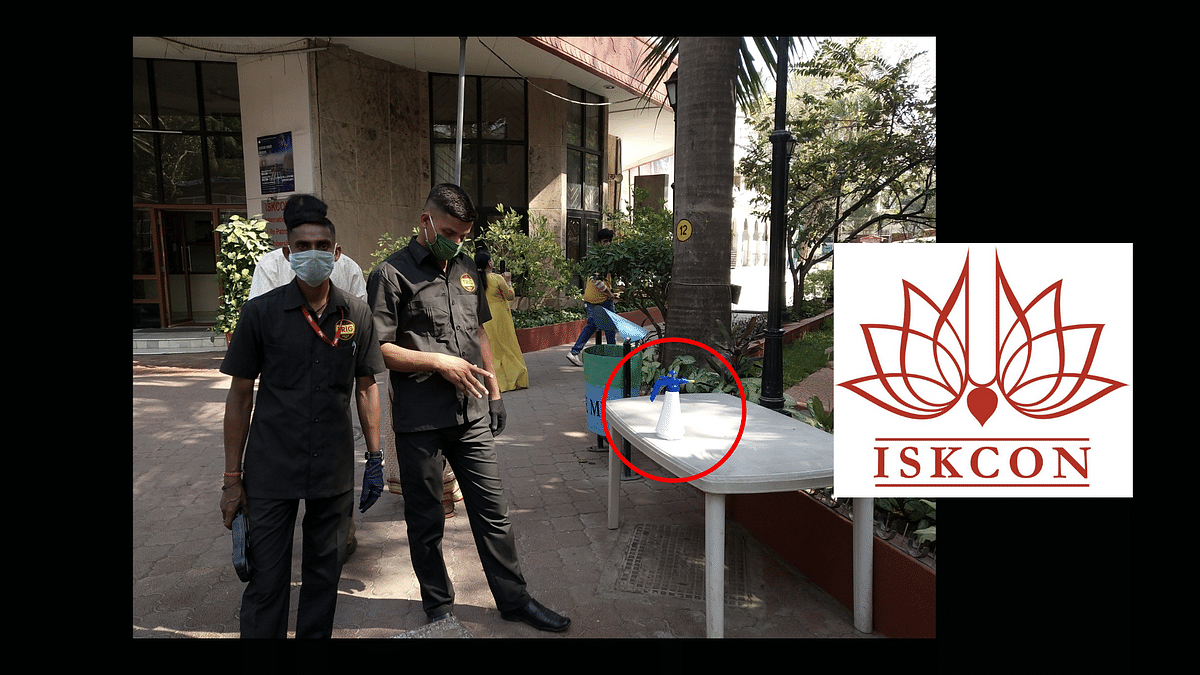ISKCON Mumbai Puts Gaumutra on Visitors' Hands Without Permission