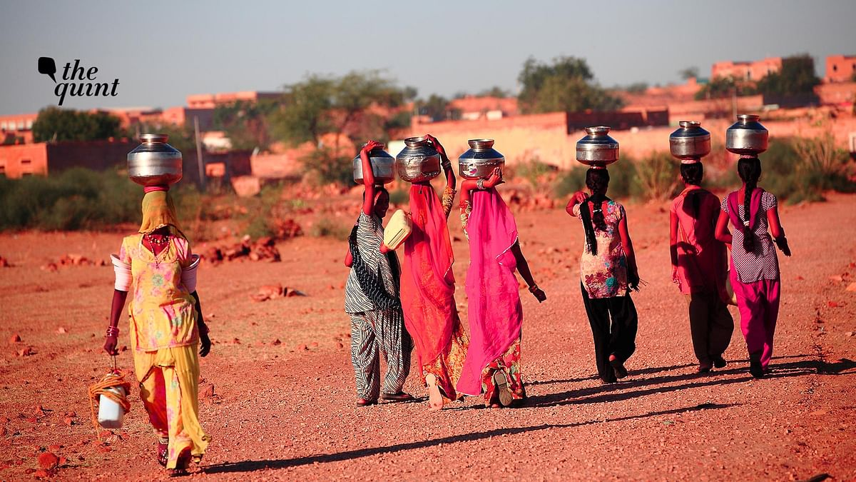 Image of women in an Indian village used for representational purposes.