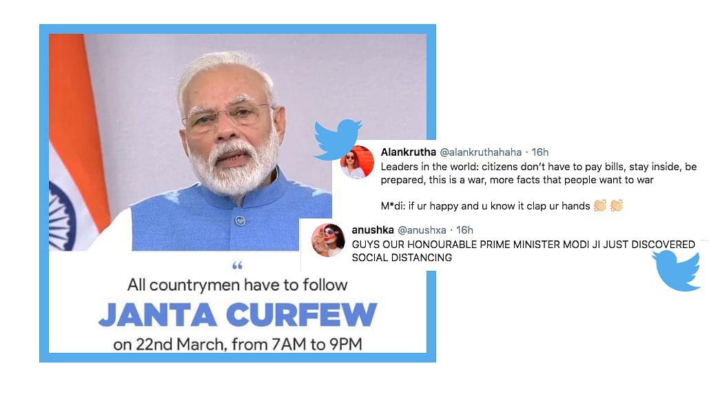 Modi Announces 'Janta Curfew', Twitter Reacts With Hilarious Memes