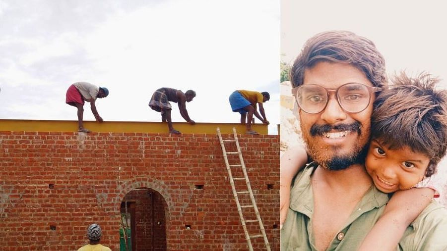 Tamil Nadu engineer is helping building a home with jaggery and egg whites.