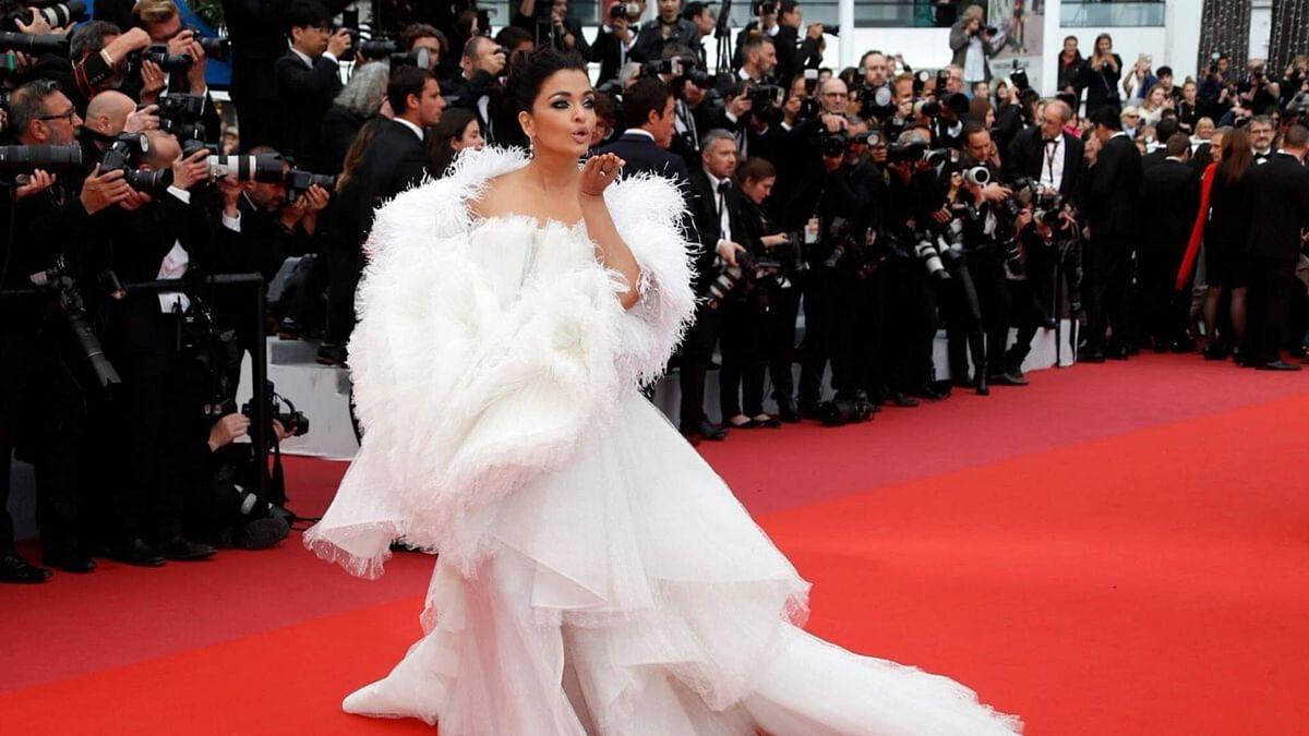Aishwarya Rai at the Cannes Film Festival 2019.