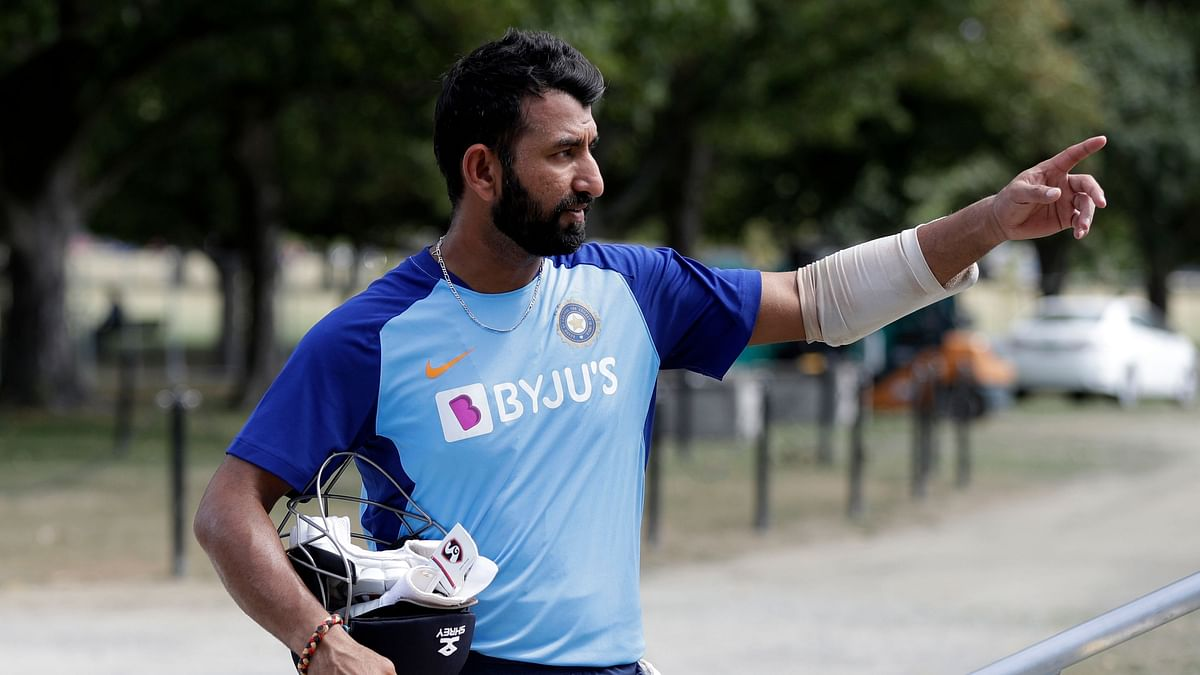 Pujara Busy Taking Care of Daughter & Helping With Daily Chores