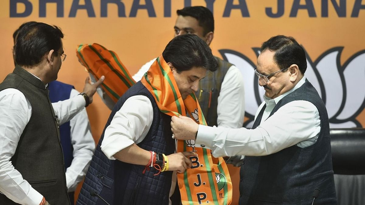 BJP Nominates Scindia For RS From MP, Releases List of 10 Names