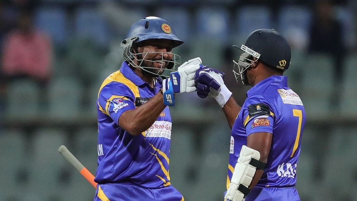 Dilshan helped Sri Lanka Legends beat Australia Legends in the Road Safety Cricket Series.