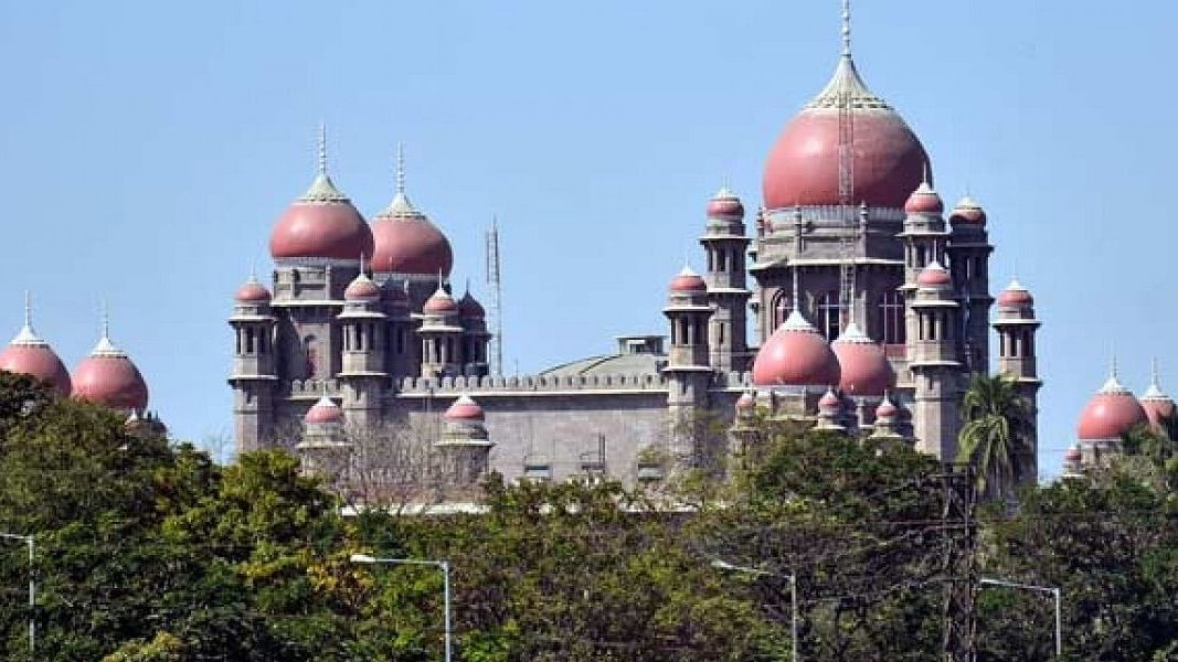 The Telangana high court in Hyderabad.