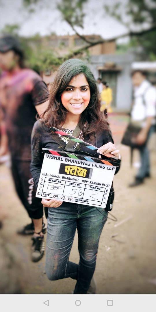 Shenoya worked on Vishal Bharadwaj's <i>Pataakha.</i>
