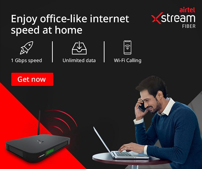 Work From Home Seamlessly With Airtel Xstream Fiber's 1Gbps Speed