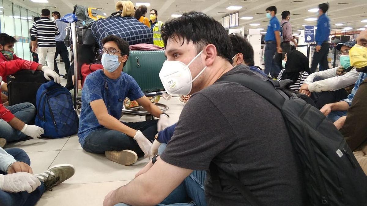 COVID-19: Amid Cancellations, Passengers Stranded at Delhi Airport