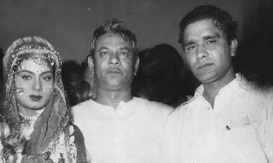 Nimmi, filmmaker Mehboob Khan and her husband S Raza Ali.
