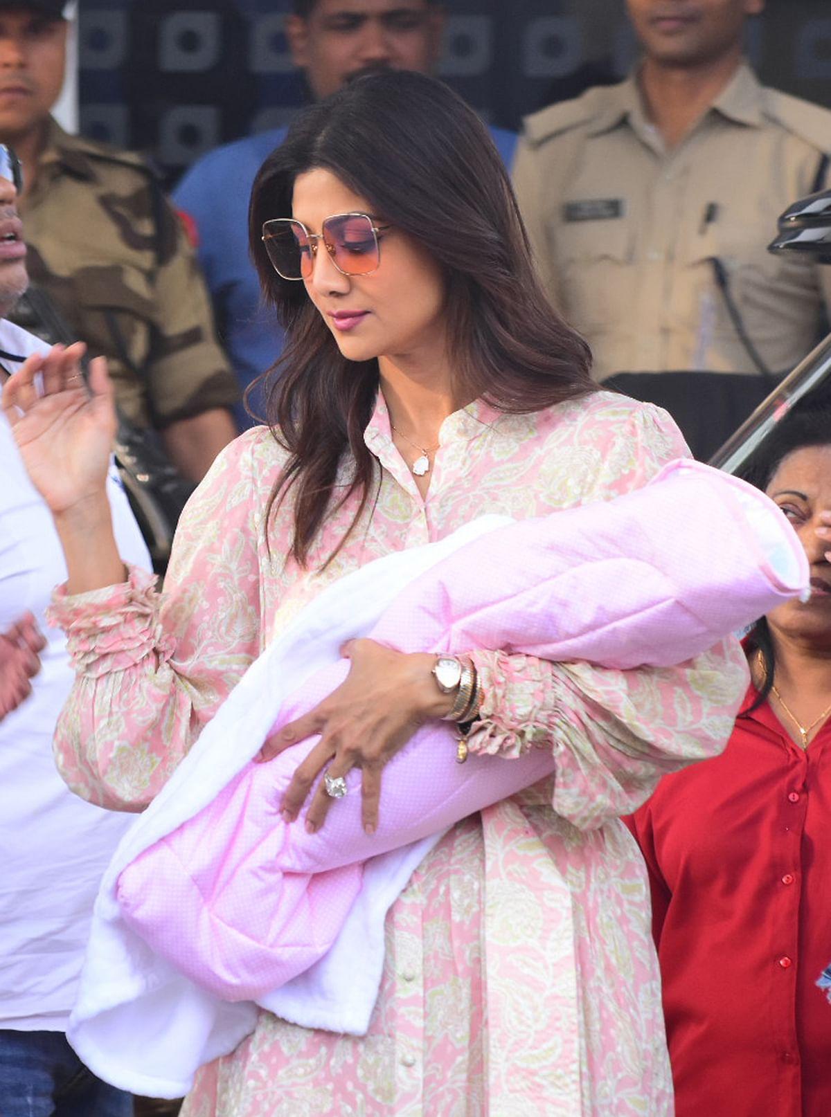 Shilpa and Samisha.