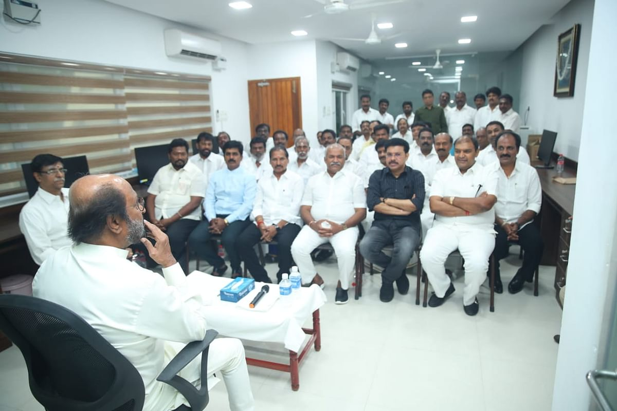 A meeting with all the district secretaries comes after a year amidst rumours that Rajini will float a political party this April.