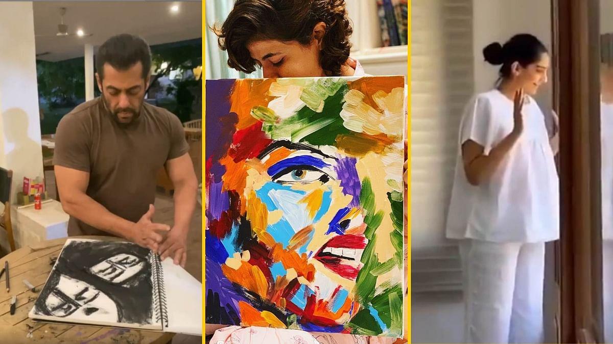 Salman, Tahira, Sonam Get Creative Under Coronavirus Quarantine
