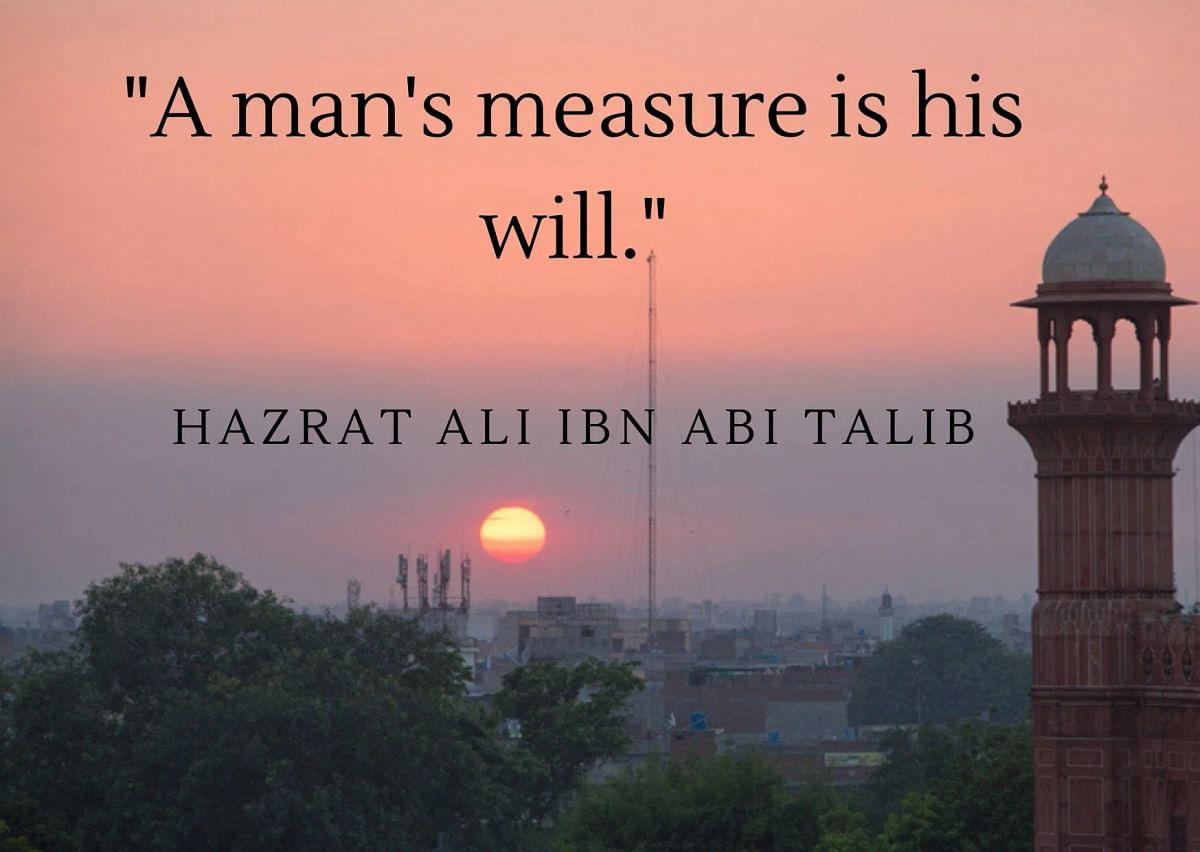 Hazrat Ali Quotes in English