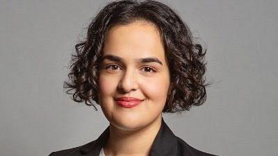 British MP Nadia Whittome