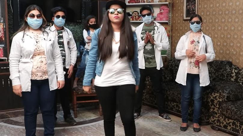 Dhinchak Pooja Drops New Track 'Hoga Na Corona' to Fight COVID-19