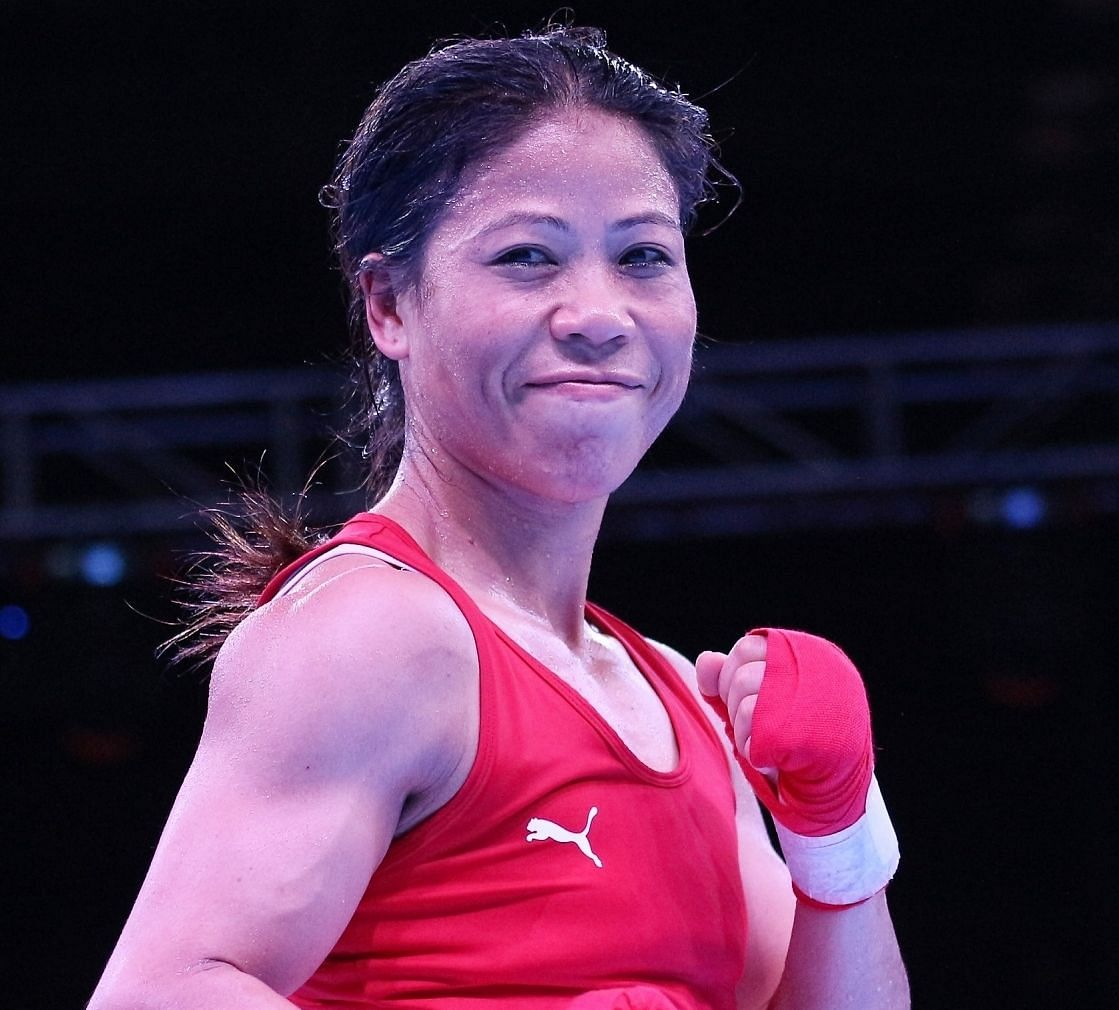 MC Mary Kom qualified for the Tokyo Olympics in March this year.